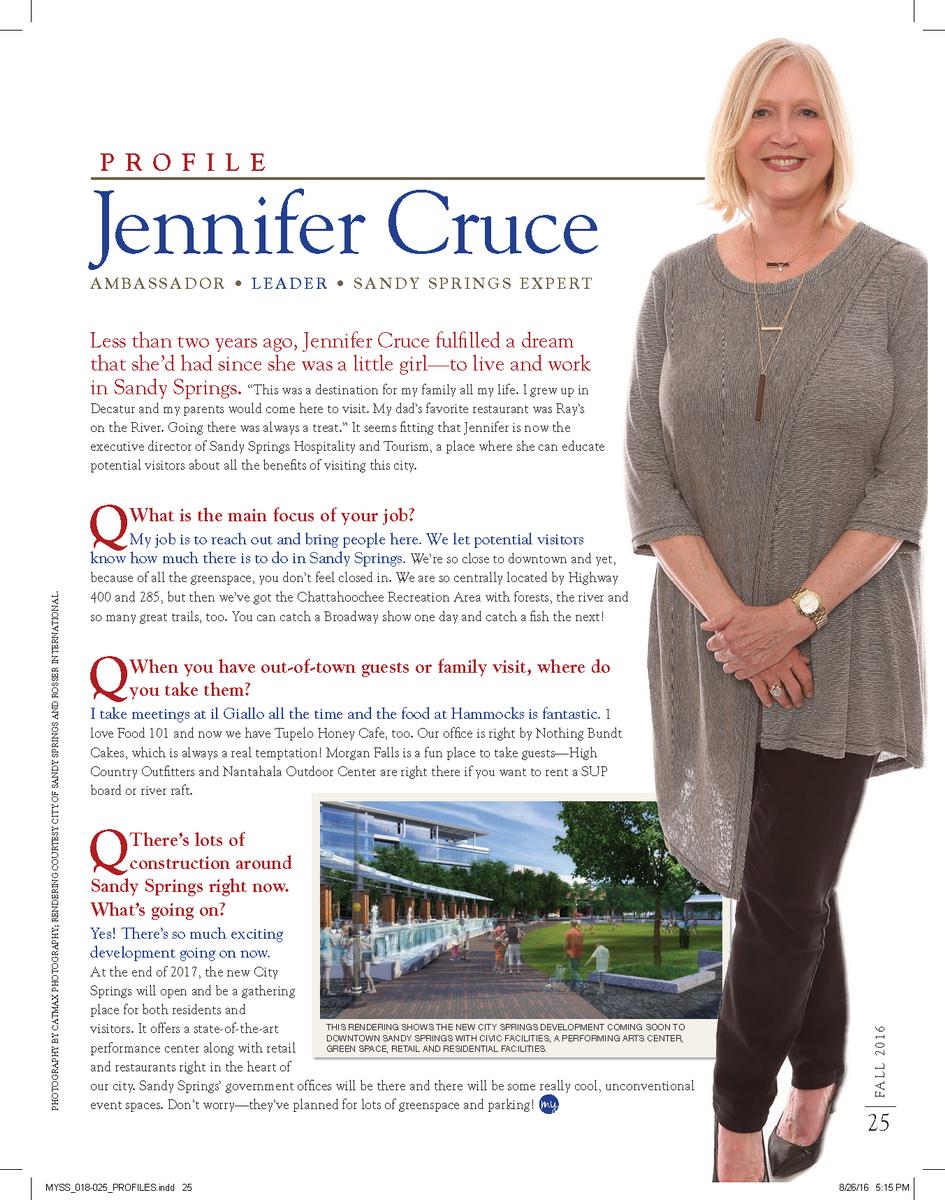 Jennnifer Cruce My Sandy Springs