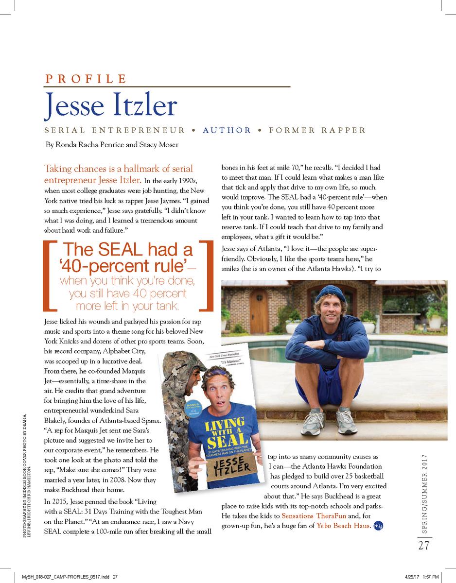Jesse Itzler Profile