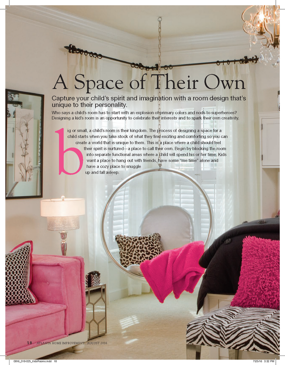 Kids' Rooms--A Space of Their Own