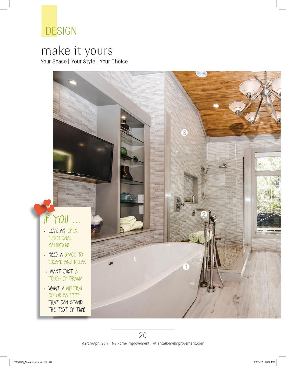 Make It Yours Bathroom Design