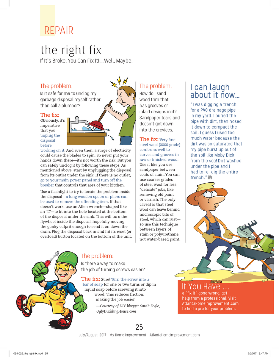 The Right Fix July-Aug