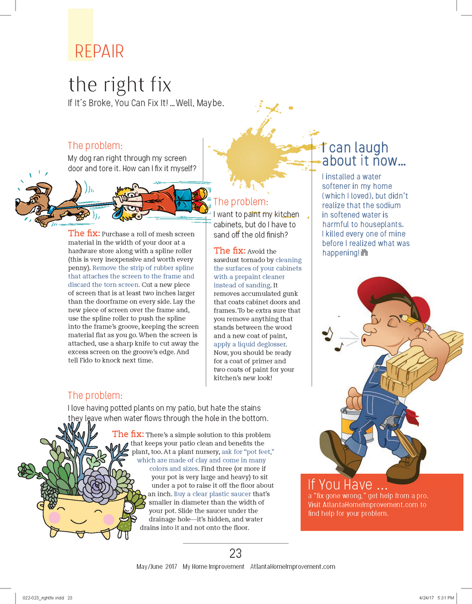 The Right Fix May June