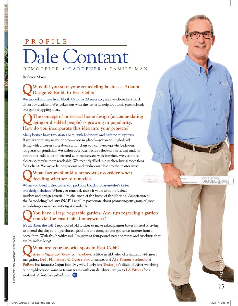 Dale Contant Builder