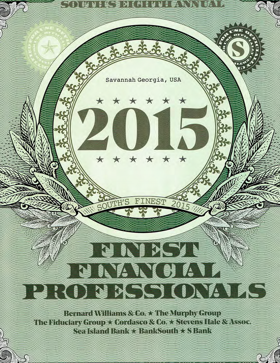 South's Finest Financial Professionals Advertorial